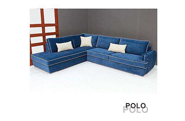 Καναπές γωνιακός Sofa And Style Polo-Polo
