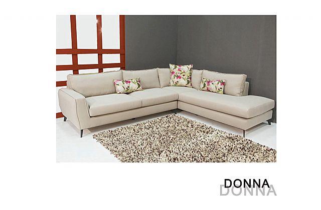 Καναπές γωνιακός Sofa And Style Donna-Donna