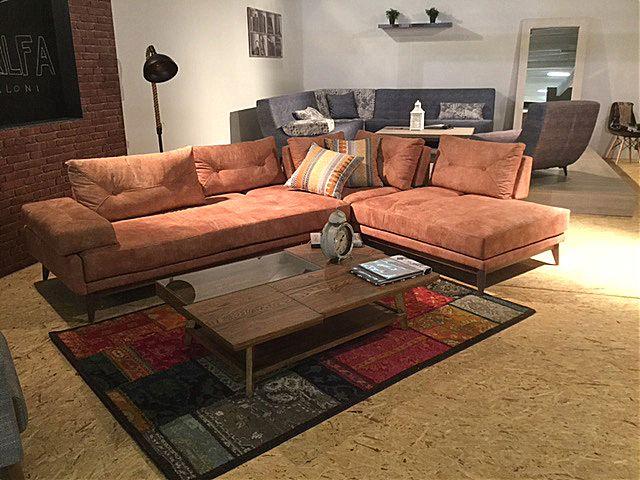 Καναπές γωνιακός Sofa And Style Carma-Carma