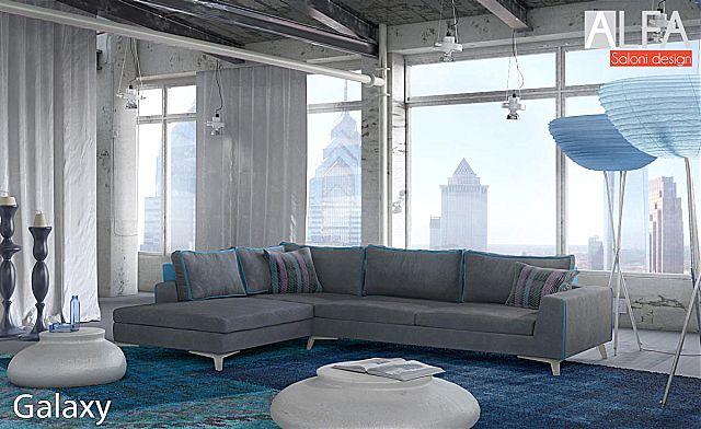 Καναπές γωνιακός Sofa And Style Galaxy-Galaxy