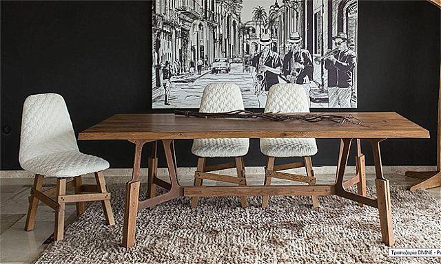 Τραπέζι τραπεζαρίας Sofa And Style Divine-Divine