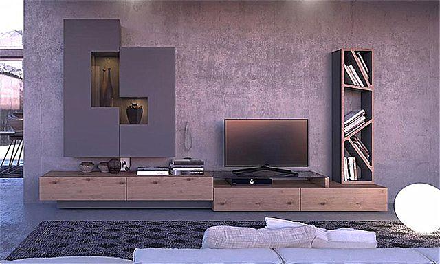 Συνθέση τοίχου σαλονιού Sofa And Style Big-Big