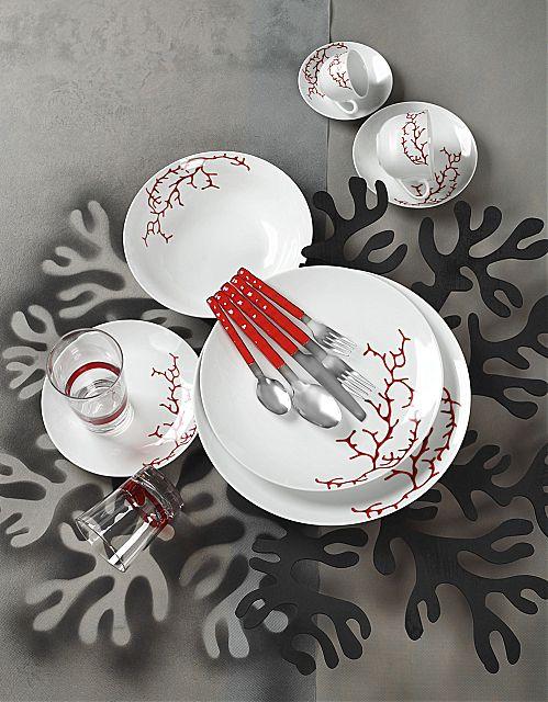 Σερβίτσιο πιάτων-φαγητού Cryspo Trio Aspen-Aspen