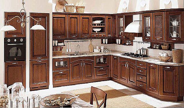 Κουζίνα κλασική Oikia kantis Vania-Vania 1