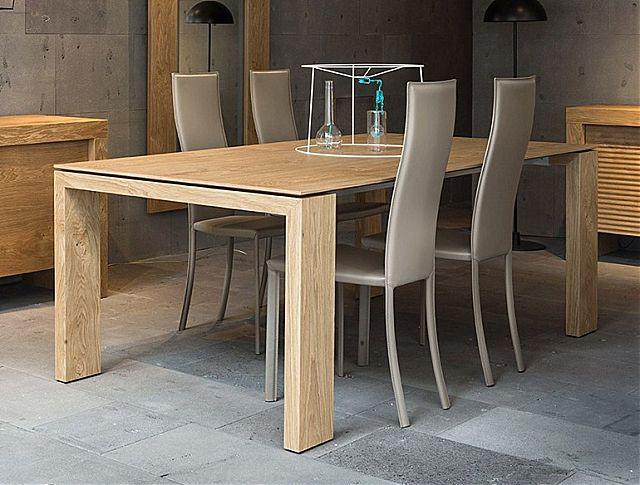 Τραπέζι τραπεζαρίας Riflessi Atlante-Atlante Oak