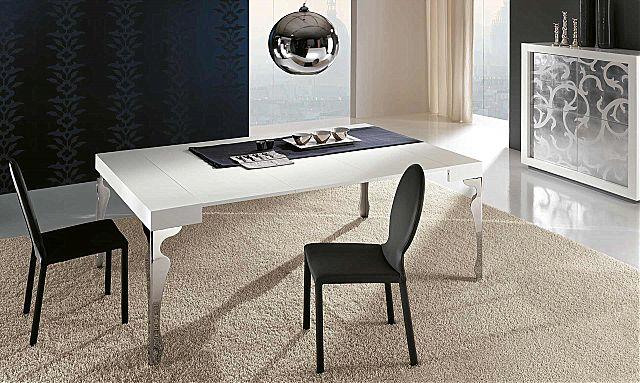 Τραπέζι τραπεζαρίας Riflessi Luxury-Luxury Rectangular Extending