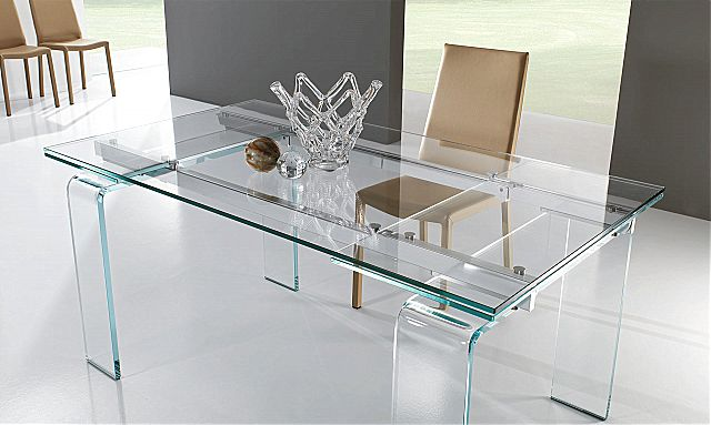Τραπέζι τραπεζαρίας Riflessi Plano-Plano Contemporary