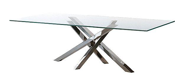 Τραπέζι τραπεζαρίας Riflessi Shangai-Shangai Glass