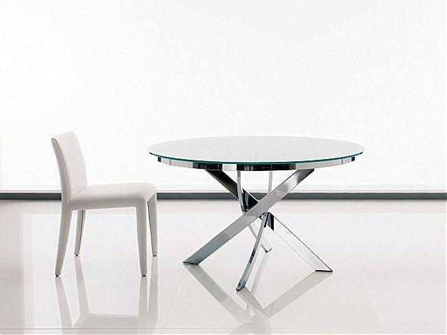 Τραπέζι τραπεζαρίας Riflessi Shangai-Shangai Small Glass