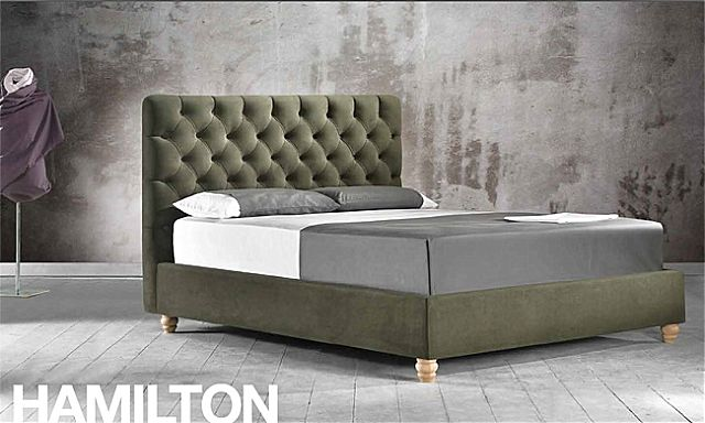 Κρεβάτι επενδυμένο Sofa And Style Talenti-Hamilton