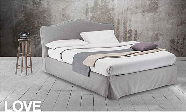Κρεβάτι επενδυμένο Sofa And Style Talenti-Love