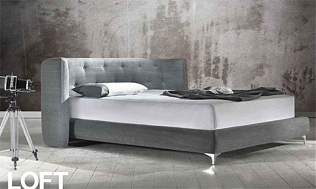 Κρεβάτι επενδυμένο Sofa And Style Talenti-Loft
