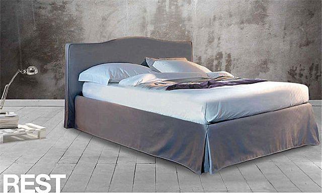 Κρεβάτι επενδυμένο Sofa And Style Talenti-Rest