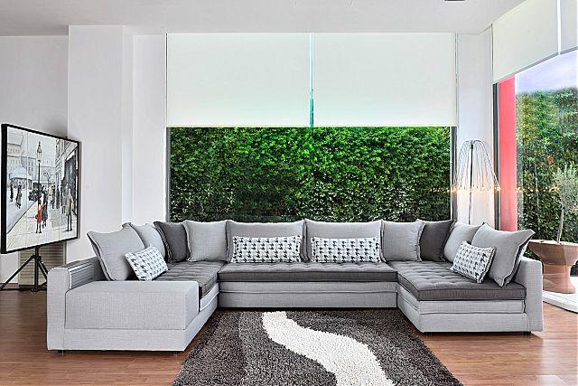 Καναπές γωνιακός Sofa And Style Ritch-Ritch