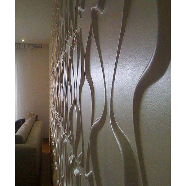 Πάνελ τοίχου διακοσμητικό 3d art Curves-Curves