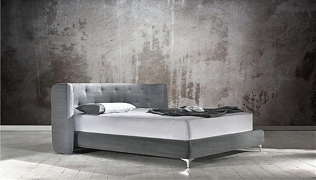 Κρεβάτι επενδυμένο Oikia kantis Loft-Loft