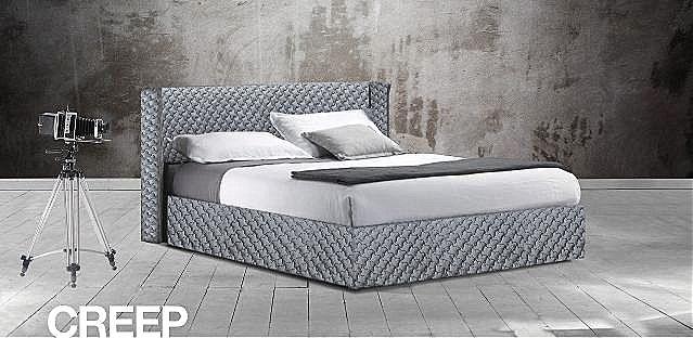 Κρεβάτι επενδυμένο Oikia kantis Creep-Creep