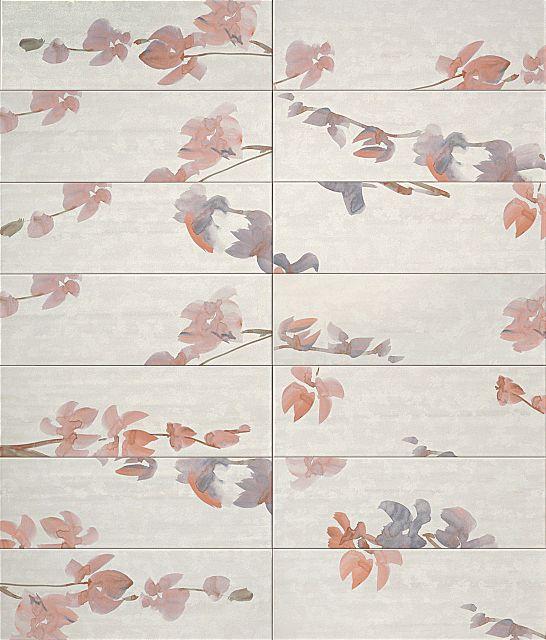 Πλακάκι μπάνιου Fap Ceramiche Sole-Sole petali bianco