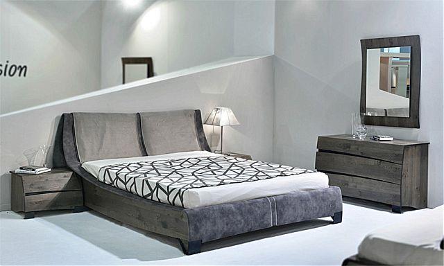 Κρεβατοκάμαρα Sofa And Style Join-Ναυσικά γκρί ρουστίκ