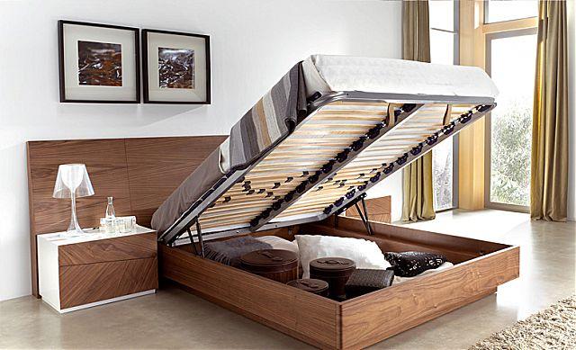 Κρεβάτι ξύλινο Megamobiliario Alba-Alba Bed