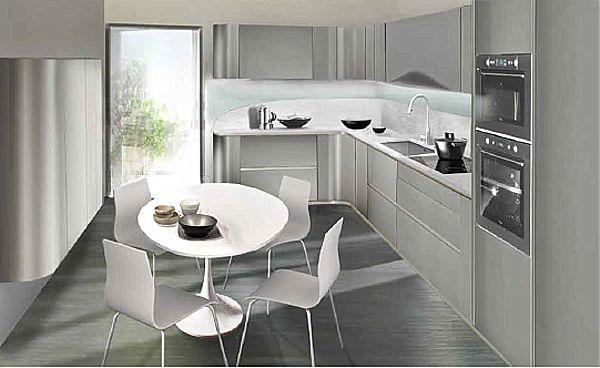 Κουζίνα μοντέρνα Snaidero Ola 20-Ola 20 lead gray