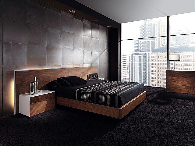 Κρεβάτι ξύλινο Megamobiliario Luz-Luz Bed