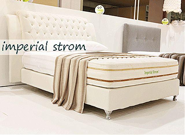 Κρεβάτι επενδυμένο Imperial Strom Πηνελόπη-Πηνελόπη