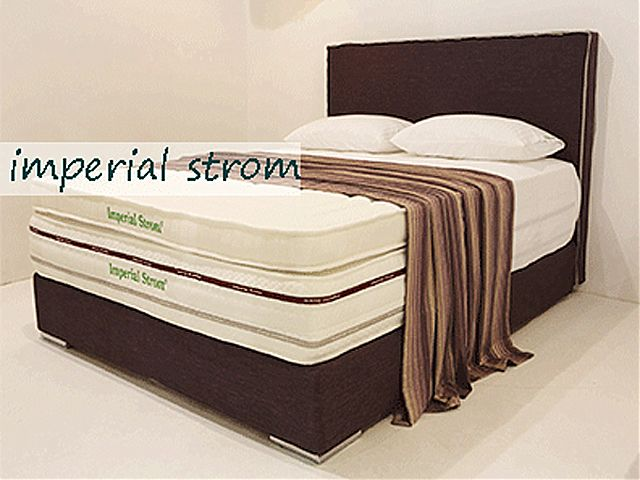 Κρεβάτι επενδυμένο Imperial Strom Ήρα-Ήρα