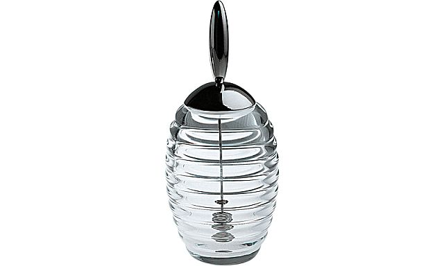 Alessi - TW01 honey jar with dipper - Ν.Γ. Καραγεωργίου