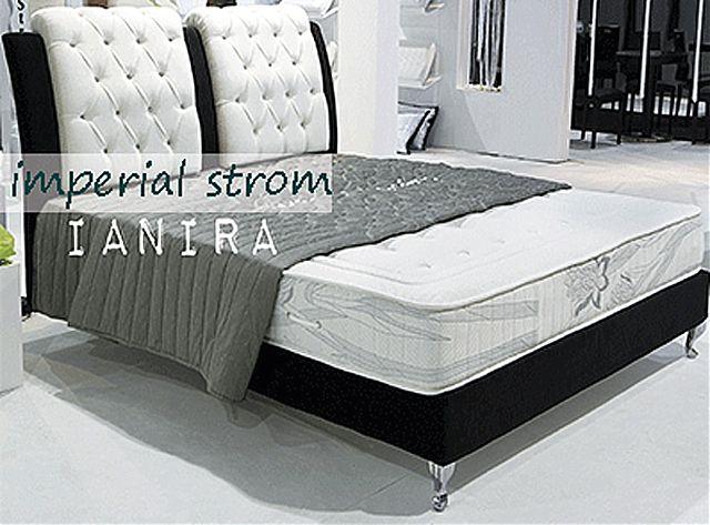 Κρεβάτι επενδυμένο Imperial Strom Ιάνειρα-Ιάνειρα