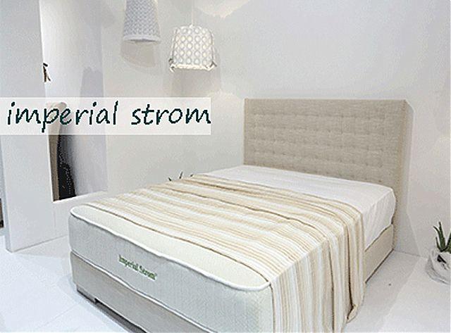 Κρεβάτι επενδυμένο Imperial Strom Μόνικα-Μόνικα