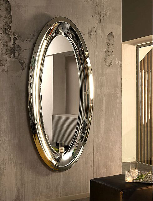 Καθρέφτης Riflessi Aqua-Aqua Ellipse Mirror