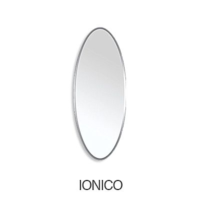 Καθρέφτης Riflessi Ionico-Ionico Small Oval Mirror