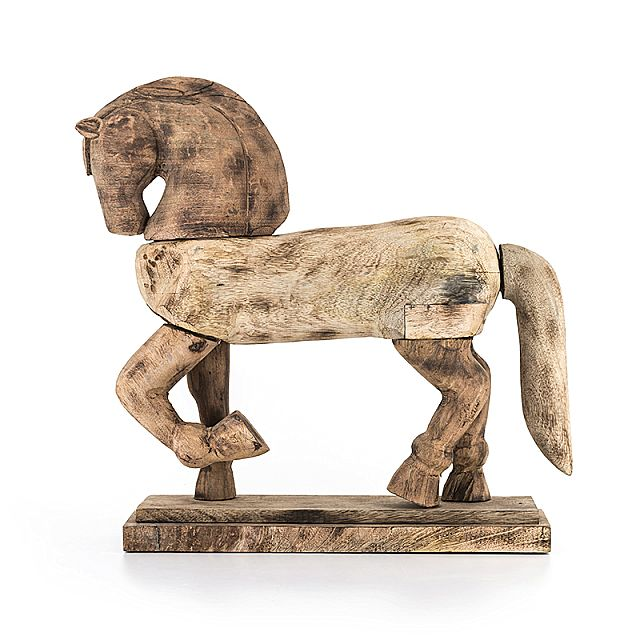 Άγαλμα/Γλυπτό Arva Warhorse-Warhorse Wood