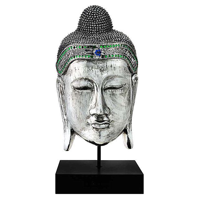 Άγαλμα/Γλυπτό Arva Bhodi Small 19-Thailand Buddha Face