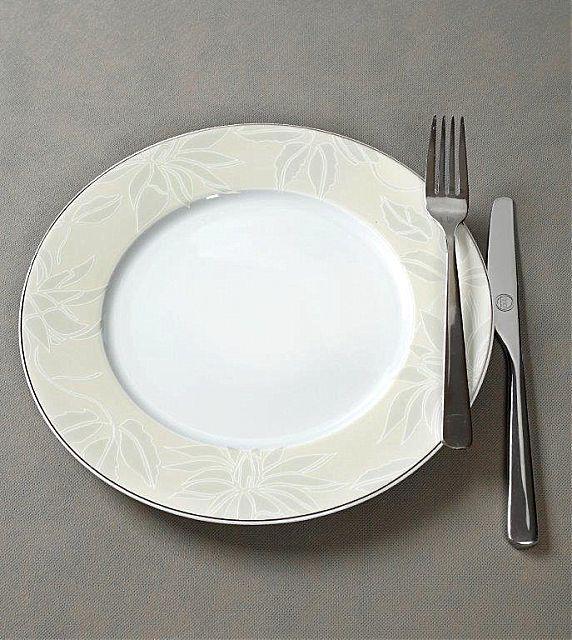 Σερβίτσιο πιάτων-φαγητού Cryspo Trio Leaves-Leaves