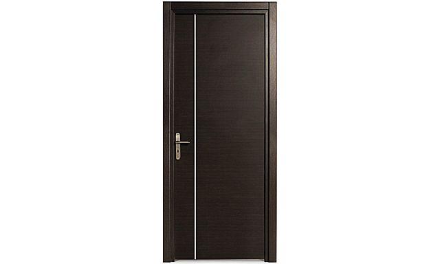 Πόρτα Εσωτερική Intradoor Laminate-Laminate wenge με inox κάθετο