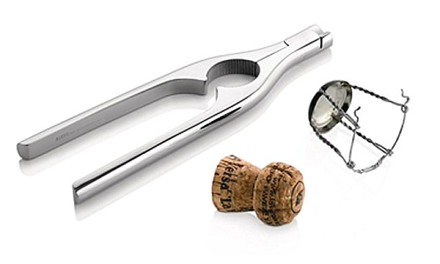Alessi - GIA10 champagne bottle opener - Ν.Γ. Καραγεωργίου