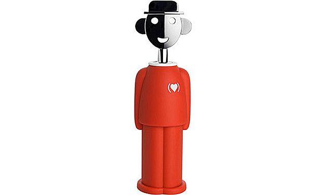 Ανοιχτήρι/Τιρμπουσόν Alessi Alessandro M-AM23 RED corkscrew