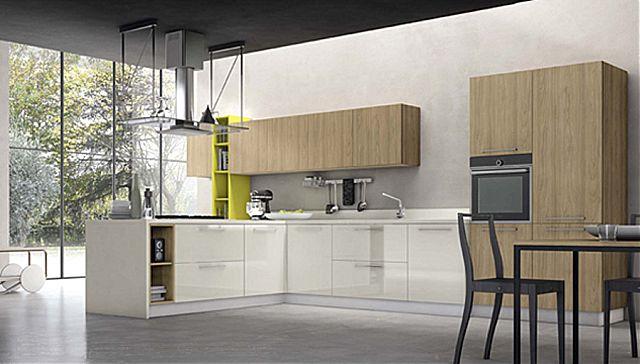 Κουζίνα μοντέρνα Stosa Alevè-Alevè Composizione 14