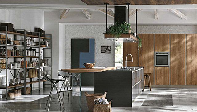 Κουζίνα μοντέρνα Stosa Infinity-Infinity Diagonal 01 Nordic style
