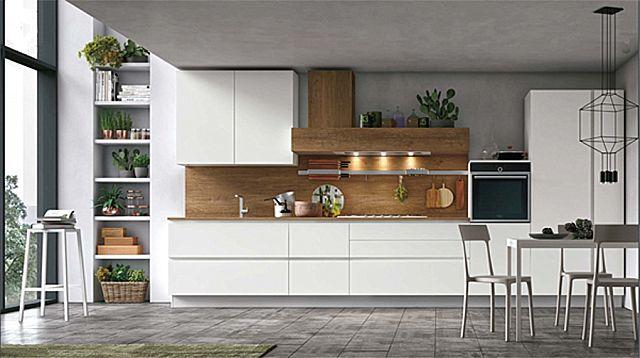 Κουζίνα μοντέρνα Stosa Infinity-Infinity Diagonal 02 Nordic style