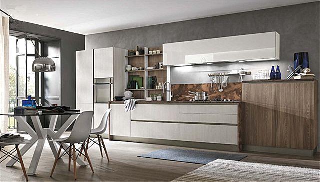 Κουζίνα μοντέρνα Stosa Infinity-Infinity Diagonal 04 Elegance style