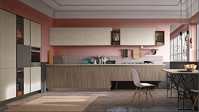 Κουζίνα μοντέρνα Stosa Infinity-Infinity Diagonal 07 Metropolitan style