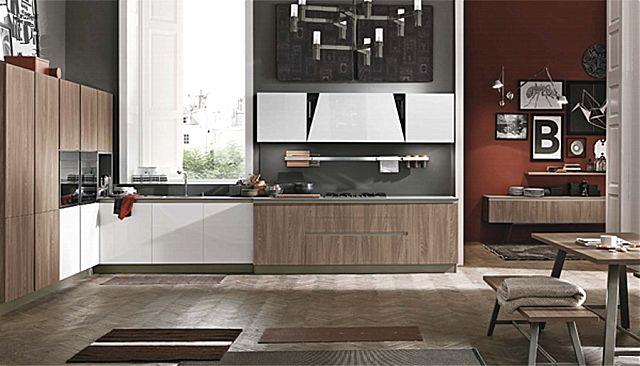 Κουζίνα μοντέρνα Stosa Infinity-Infinity Diagonal 08 Metropolitan style