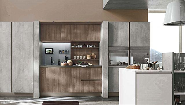 Κουζίνα μοντέρνα Stosa Infinity-Infinity Diagonal 09 Metropolitan style