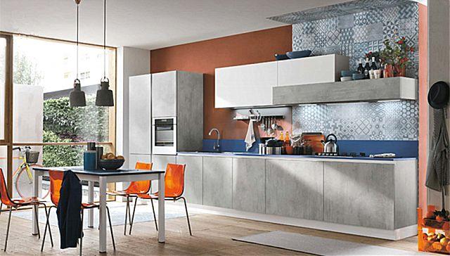 Κουζίνα μοντέρνα Stosa Infinity-Infinity Diagonal 10 Metropolitan style