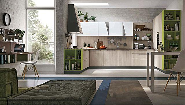Κουζίνα μοντέρνα Stosa Infinity-Infinity Composizione 02