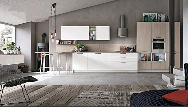 Κουζίνα μοντέρνα Stosa Infinity-Infinity Composizione 05