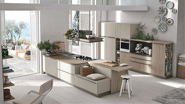 Κουζίνα μοντέρνα Stosa Infinity-Infinity Composizione 06
